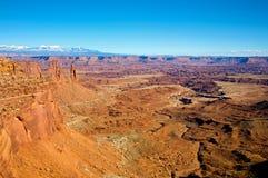 canyonlandsnationalpark arkivfoto