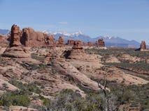 canyonlandsnationalpark USA utah Arkivbilder