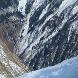 Canyons and abyss and mountains Royalty Free Stock Image