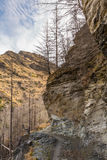 Canyons de capitaines Photo stock