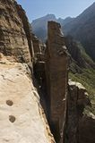 Canyons of the Gheralta Mountains near Hawzien, Tigray, Ethiopia Stock Photo