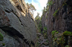 Canyons Royalty Free Stock Photos