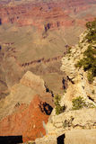 Canyons lead to  Colorado River Royalty Free Stock Photos