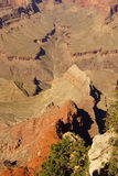 Canyons lead to  Colorado River Stock Images