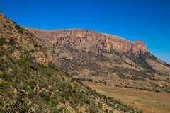 Canyons in south africa Royalty Free Stock Images
