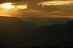 Canyons Sunset Arizona Royalty Free Stock Photos