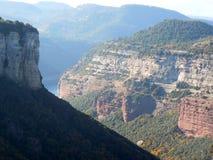 Canyons in Tavertet, Barcelona Stock Photos