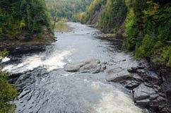 Canyons and waterfalls Royalty Free Stock Photo