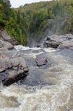 Canyons and waterfalls Stock Photos