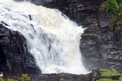 Canyons and waterfalls Royalty Free Stock Photos