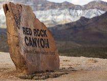 Canyou rosso della roccia Fotografie Stock