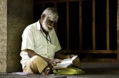 Canzone dello spiritual della lettura Immagini Stock Libere da Diritti