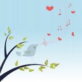 Canzone di amore Fotografia Stock