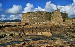 Cao堡垒(Gelfa)在维拉Praia de Ancora 免版税库存照片
