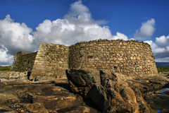 Cao堡垒(Gelfa)在维拉Praia de Ancora 免版税库存图片