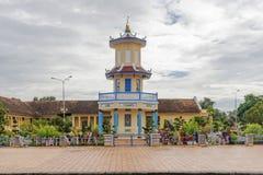 Cao戴教廷寺庙,西宁省,越南 库存图片