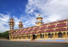 Cao Dai Święty Widzii świątynię, Tay Ninh prowincja, Wietnam Fotografia Royalty Free