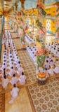 Cao Dai Święty Widzii świątynię, Tay Ninh prowincja, Wietnam Zdjęcia Stock