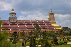 Cao Dai ναός Στοκ Φωτογραφία