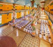 Cao Dai Holy See Temple, provincia de Tay Ninh, Vietnam Foto de archivo