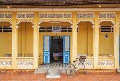 Cao Dai Holy See Temple, provincia di Tay Ninh, Vietnam Fotografie Stock