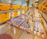 Cao Dai Holy See Temple, Tay Ninh province, Vietnam Royalty Free Stock Images