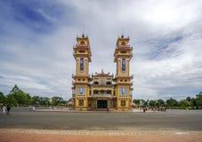 Cao Dai Holy See Temple, Tay Ninh-Provinz, Vietnam Lizenzfreies Stockbild