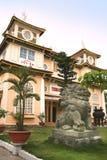 The Cao Dai temple of Da Nang, Vietnam Royalty Free Stock Images