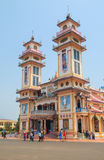 Cao Dai Temple di Tay Ninh Fotografia Stock