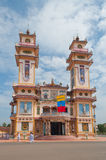 Cao Dai Temple. Ho Chi Minh City. Vietnam Royalty Free Stock Photography