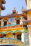 Cao Dai Temple Royalty Free Stock Photo