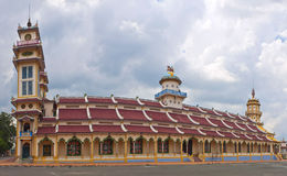Cao Dai Temple Royalty Free Stock Photography
