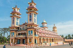 Cao Dai Temple Stock Image