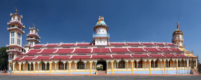 Cao Dai Temple. Vietnam Stock Photo