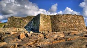Cao forteca w Vila Praia De Ancora (Gelfa) Zdjęcia Stock