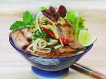Cao Lau Noodles fotos de stock