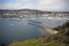 Cao Sante Marina Overlook Puget Sound Anacortes Washington stockbilder