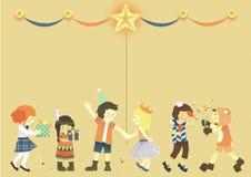 Caçoa a celebração Foto de Stock Royalty Free