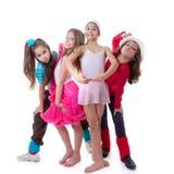 Caçoa a escola de dança Imagens de Stock Royalty Free