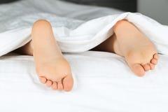 Caçoa os pés Fotografia de Stock Royalty Free