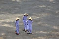 Caodai temple near Ho Chi Minh City, Vietnam Royalty Free Stock Images