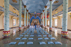 Caodaist temple Stock Images