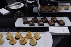 CAOFFE和蛋糕 图库摄影