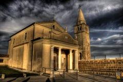 caorle教会 免版税库存照片