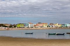 Caorle beach Royalty Free Stock Images