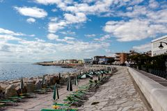 Caorle beach Royalty Free Stock Photography