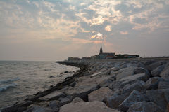 Caorle seaside Royalty Free Stock Photos