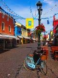 Caorle, vecchia città Fotografia Stock