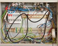 Caos électriques Photographie stock libre de droits
