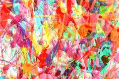 Caos brillante del color Imagenes de archivo